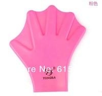 силиконовые воду плавать плавание перепончатые Перчатки Перчатки тренировочные спортивные руки весла 4 пары/лот