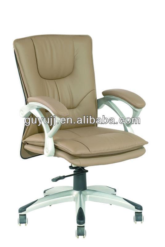 Y-2871 Kina Metal Stol Kontorstol med PU Læderstol til Engroshandel