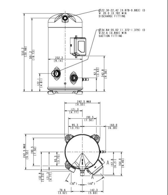 Wiring Diagram For Bristol Compressor As Well As Dwm Copeland