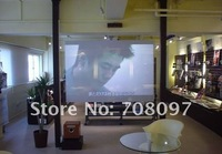 Товары на заказ 1.5 square meter holographic rear projection scren film all 4 colours available