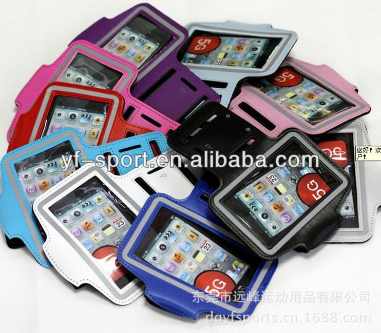Neoprene PVC arm mobile phone case