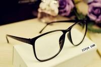 Звездный стиль роскоши моды мужчин/женщин большой старинный плоские линзы очки Фоторамки очки мода