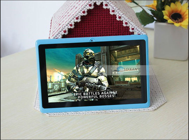 With Silicone Protective Case For Option 1.2Ghz Wholesale Andriod 2.2 Tablet Pc