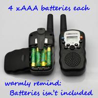 Рация 0.5W UHF Auto Multi-Channels 2-Way Radios Walkie Talkie interphone T-388 2 Pcs/LOT #EC010