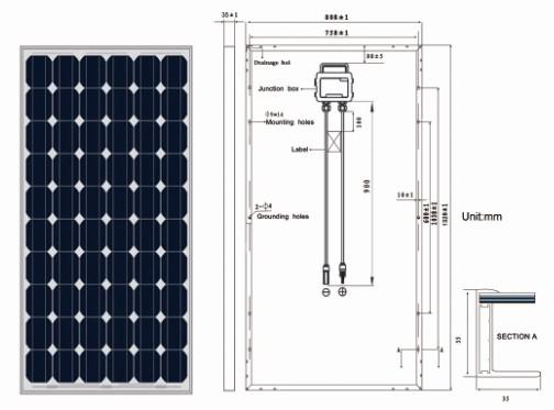 140w solar panel manufacturer with TUV IEC certificate