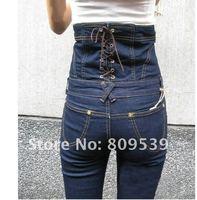 Женский джинсовый комбинезон Piece denim fashion pants