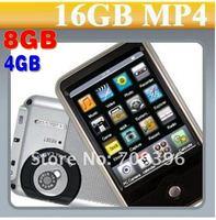 MP4-плеер OEM 2.8 inchTouchScreen mp4 + + FM + , 5 /lot4GB mp4 MP468