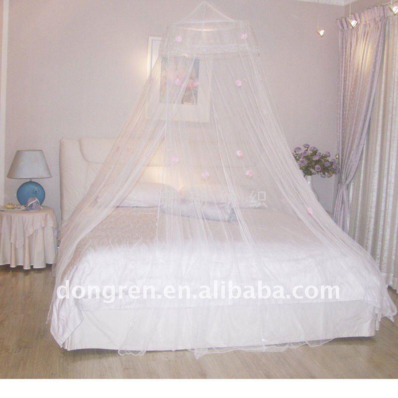 Circular mosquito net e meninas novo estilo copa cama - Mosquiteras para camas ...