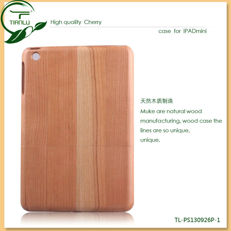 for ipad case wood making,super natural wood case for ipad mini