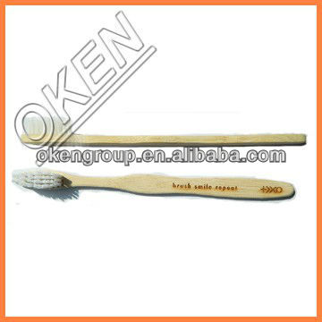 100% Biodegradable OEM Bamboo Toothbrush
