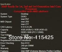 G.skill 4g single ddr3 1600 4g desktop desktop Rams