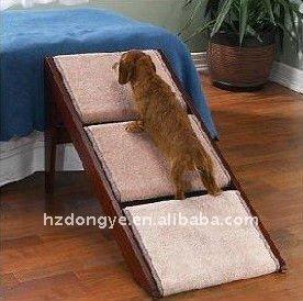 en bois animal escalier tapes escalier r glable chat chien rampe nouveau autres produits d. Black Bedroom Furniture Sets. Home Design Ideas