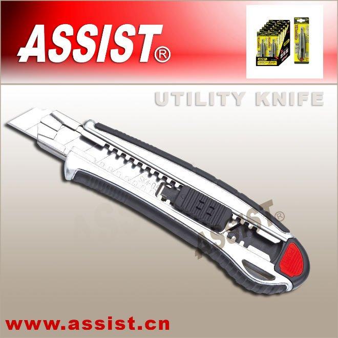 zinc alloy utility knife 18mm