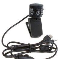 Веб-камера Oem USB 2.0 50Mega 6 LED /USB /+ MIC + CD xsj-40