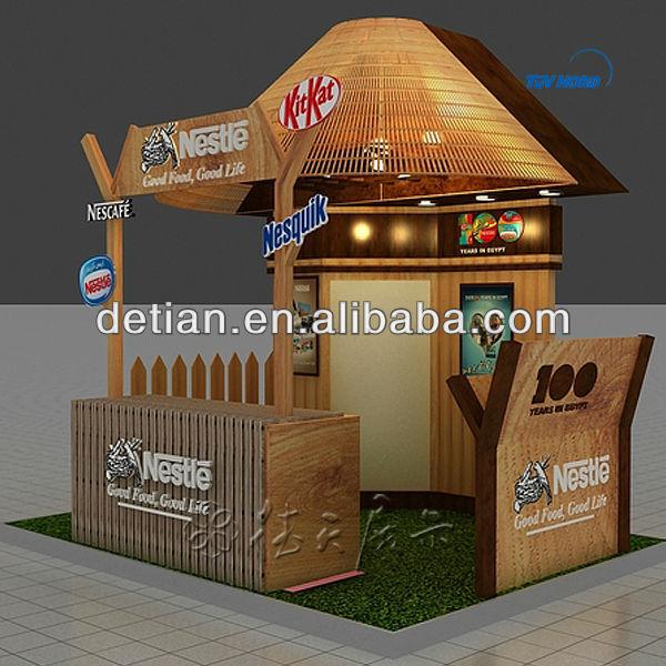 Wood And Alumininum Exhibition Stall Stands Design Exhibit