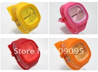 Наручные часы 1000 pc/lot Silicone Quartz Candy Jelly watch Fashion New style Jelly watch ODM watch factory sales H01