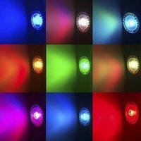 E27 3w rgb Светодиодные вращающейся лампа красочный свет led хрустальный шар dj этап легкие магические партии 85-265v автоматический поворот