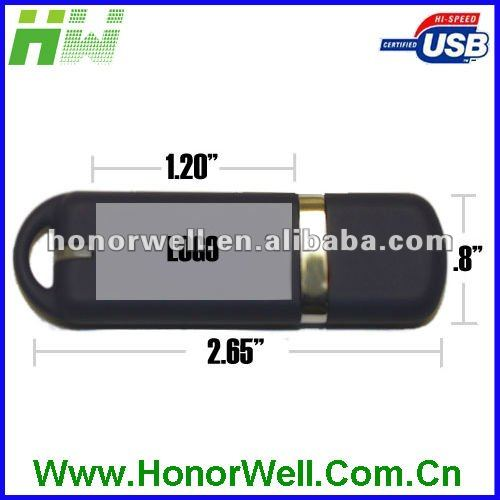 Colorful Rubber Finish Usb Flash Drive with Custom Logo Printing