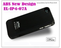 Батарея для мобильных телефонов iFans 1450Mah external battery case backup battery for iphone 4 and 4s with APPLE License