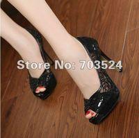 Туфли на высоком каблуке New Kvoll OL sexy high heels shoes for ladies diamond heels round head platform pump shoes factory
