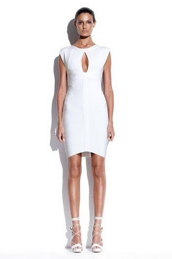 Free Shipping Women's Black White Keyhole Bandage Dresses Celebrity Dress Party Evening Dresses Wholesale Best Selling HL0831-1