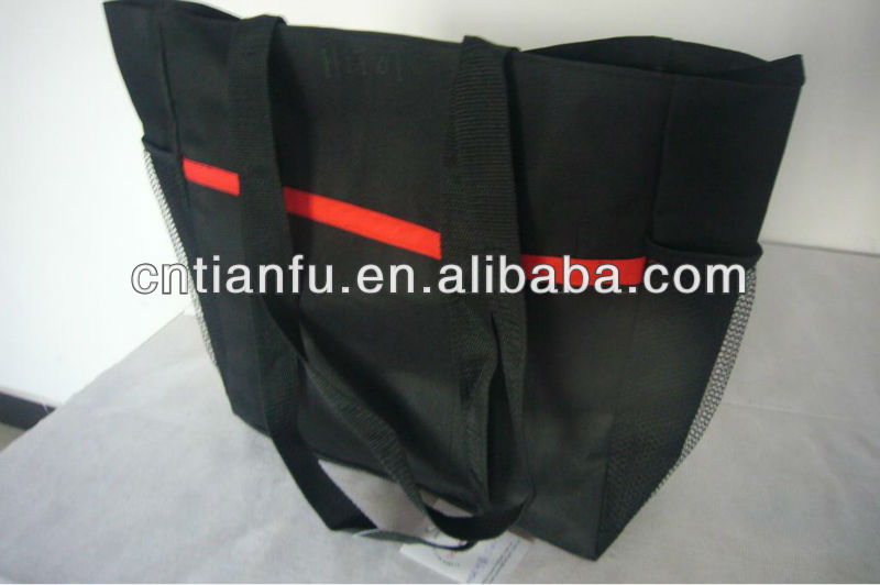 600D Tote handle bag, special supply products for HK fair