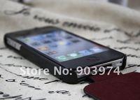 Чехол для для мобильных телефонов 100% Original HOCO Case for iphone 4s, HOCO Cow Leather Case For iPhone 4G Red/Black/Brown Duke Editon Available