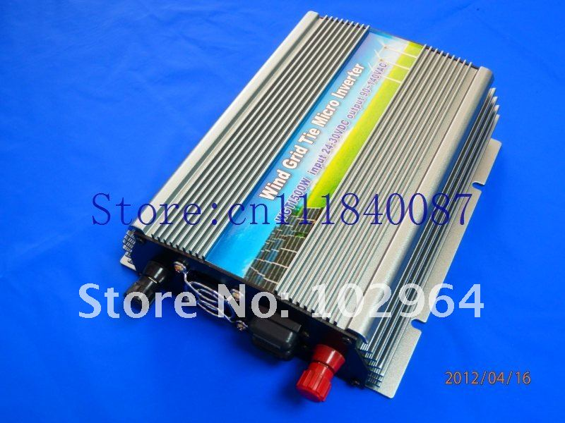 Free Shipping  via EMS/DHL Grid Tie inverter for wine turbine 800w