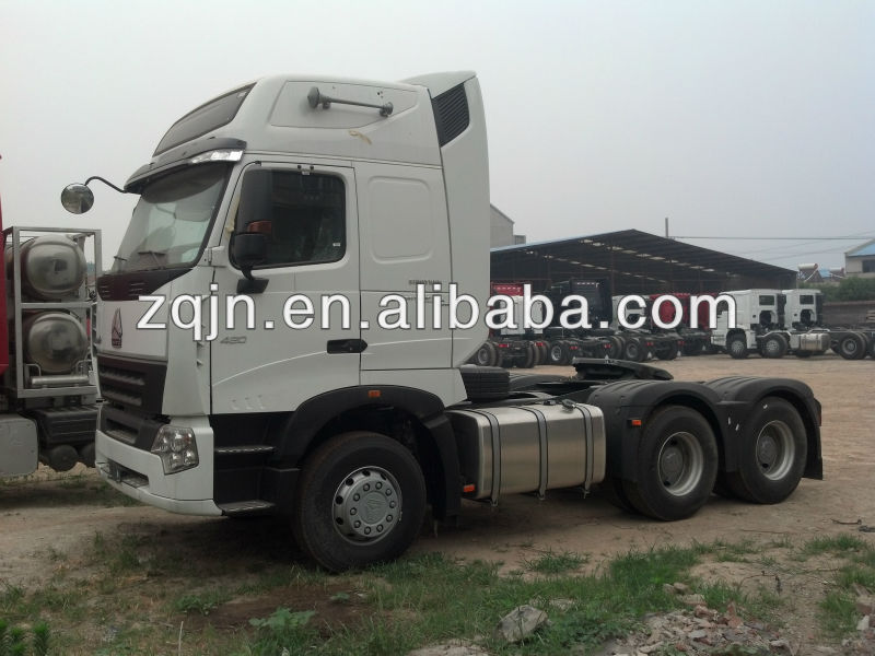 HOWO A7 prime mover China truk three wheels