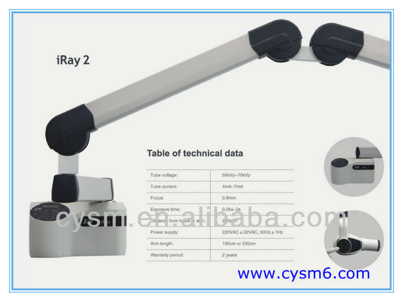 Touch Panel Dental X Ray Equipment
