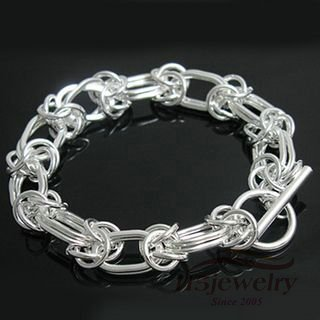 Free Shipping, Wholesale, Big Discount ,USA, EUROPE Jewelry, Crazy Price ,Silver Bracelet, Large leading bracelet