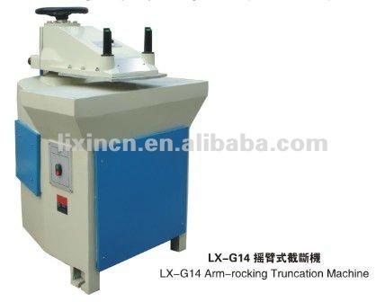 Braço hidráulico-balanço máquina de corte para calçados e bolsas manufactory