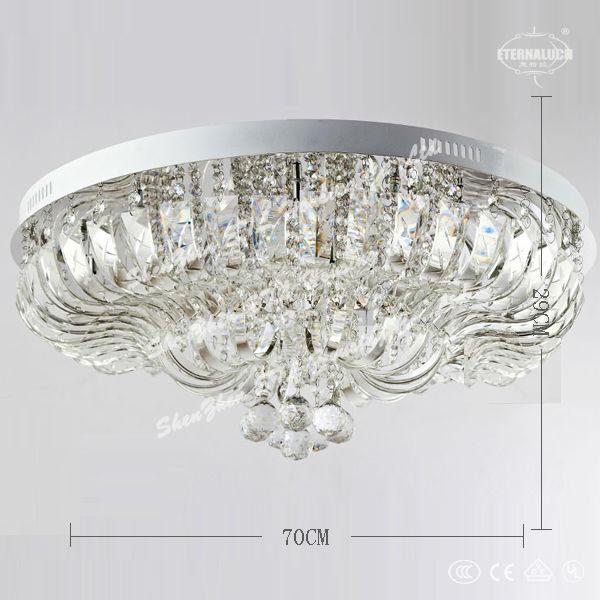 mooie beroemde huis kristal moderne plafondverlichting voor