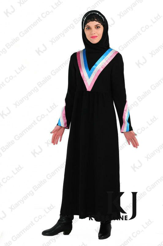 2013 Latest Fashion Design Women Baju Jubah Cotton 5046