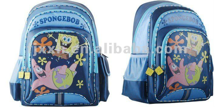 High quality pink tom and jerry school backpack bag for boys and girls