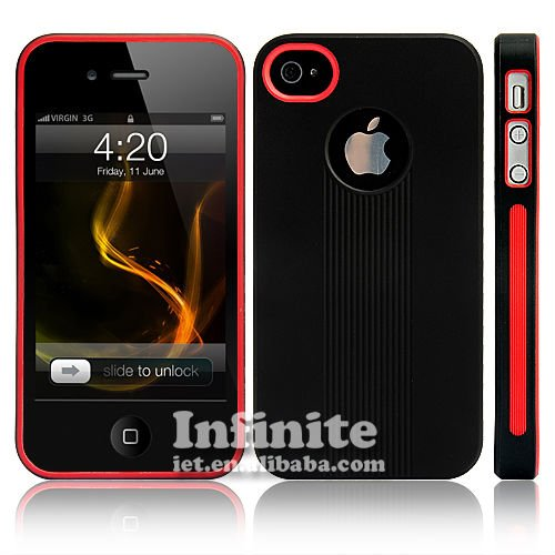 Newest TPU Case For iPhone 4 4S-1
