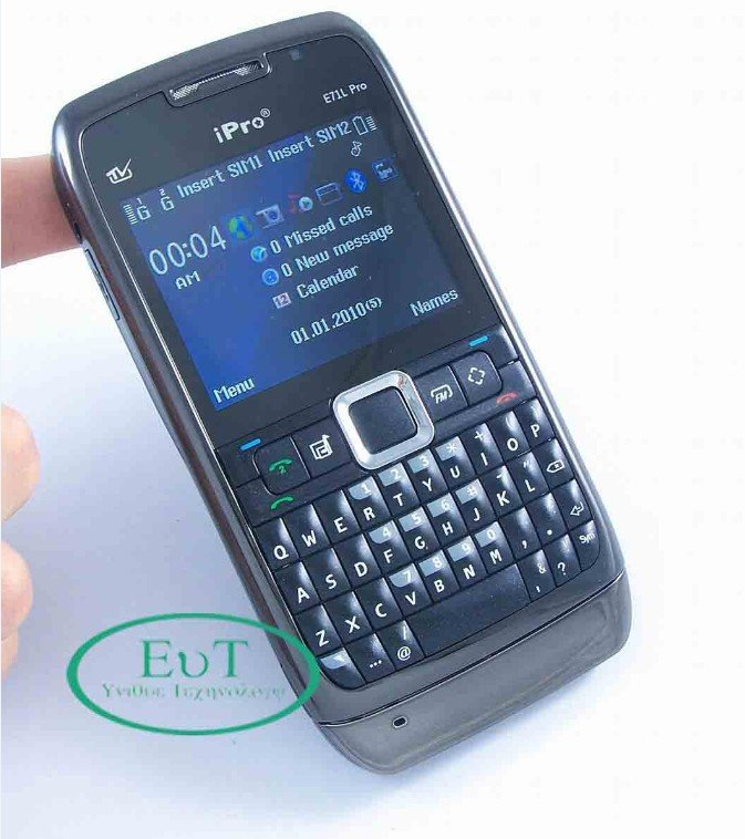 NEW Unlocked T-Mobile FM TV MP3/MP4 CELL Phone IPRO E71 Dual SIM Card FREE SHIPPING