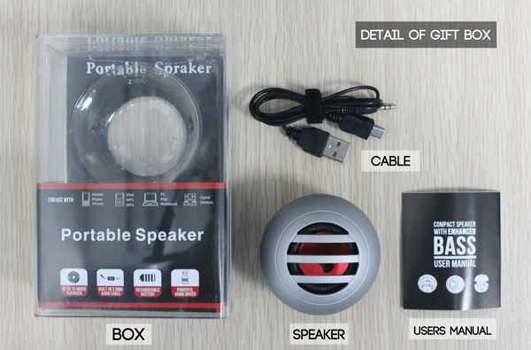 cheap price high quality cara membuat speaker aktif mini in 40mm driver for iPhone iPod MP3 computer