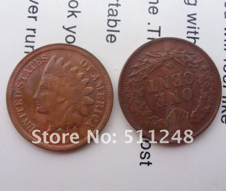 indian CENTS 1909-s coins