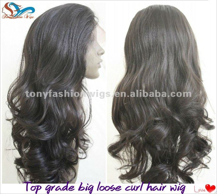 Fashion Big Loose Curl Lace Front Wig