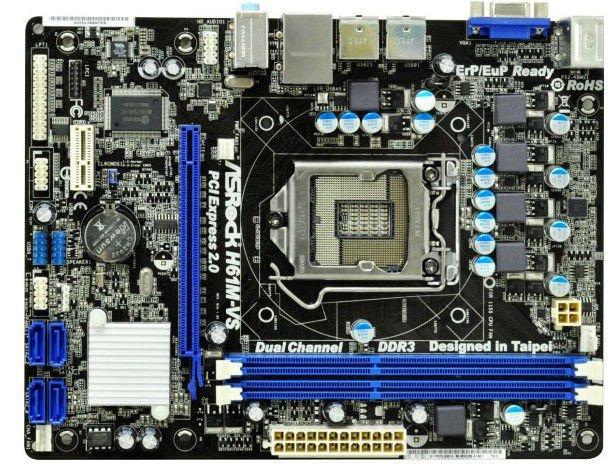 ASRock Motherboard H61M-VS R2.0