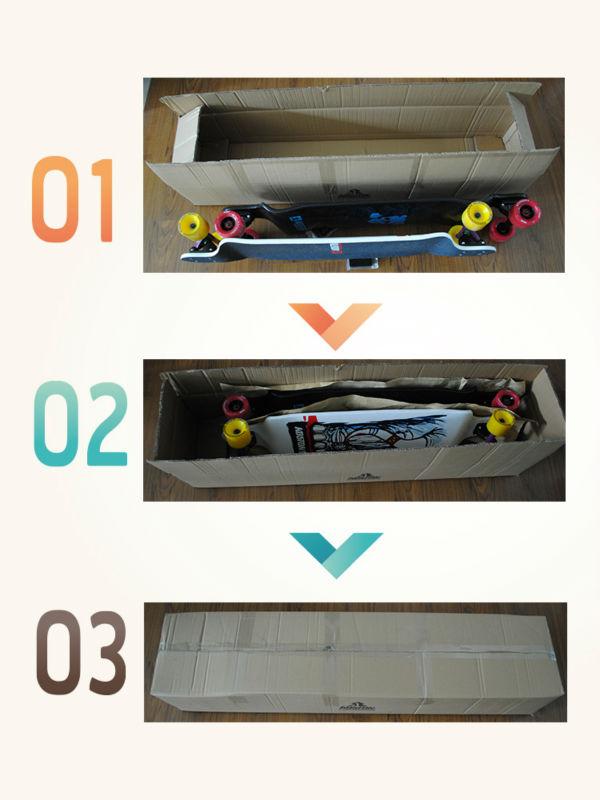 KOSTON PRO longboard complete