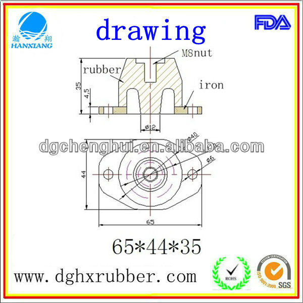 wear-resisting of Full Set Of Auto Rubber Buffer Suspension