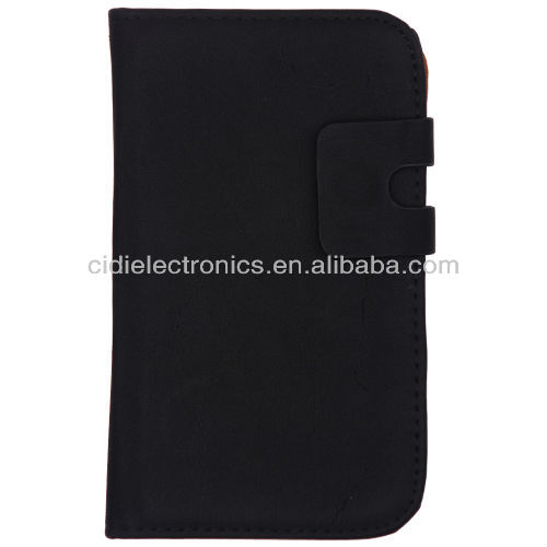 Hot Sale Leather flip case for samsung galaxy note 2