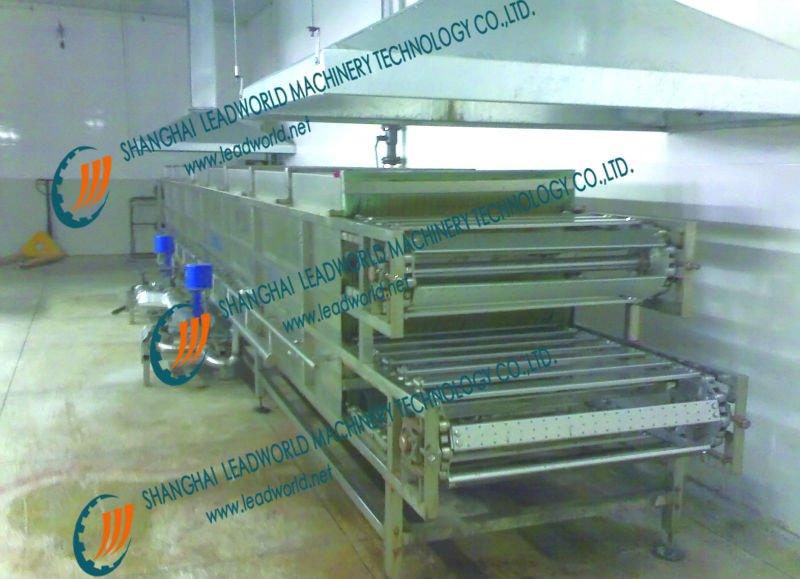 roller pasteurization machine