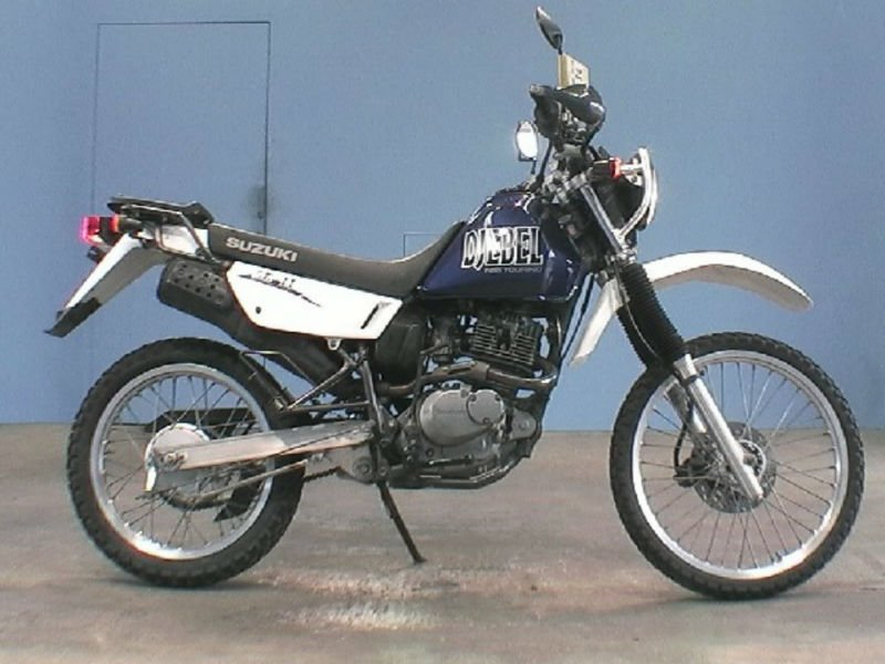 DJEBEL 200 SH42A Used SUZUKI Motorcycle