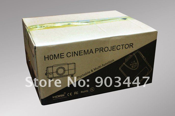 SOHA 1080P hdmi projector(projecteur,projektor,proyector) for home theater, games, DVD, psp. Free HDMI Cable as gift!