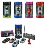 24PCS/LOT EMS fast delivery free shipping Magic Touring rc car 1:63 scale Coke Can rc mini car