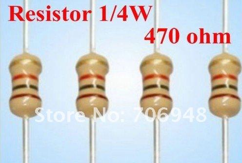220 Ohm 1//4W Carbon Film Resistor 5/% X50