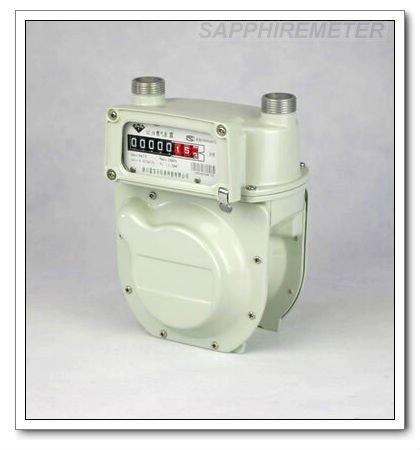 G2.5B Sapphire Diaphragm Household Aluminum Case Gas Meter